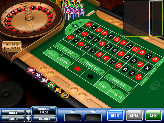 EUcasino screenshot 3