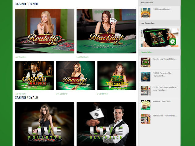 Unibet screenshot 5